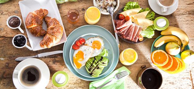 Frühstück ist fertig! Gehts noch schöner in den Tag?!