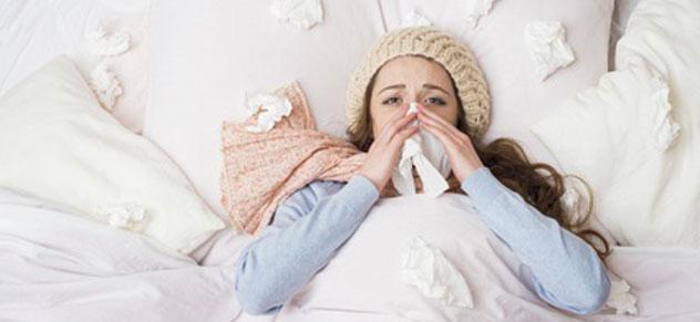 Grippewelle im Büro - hatschi